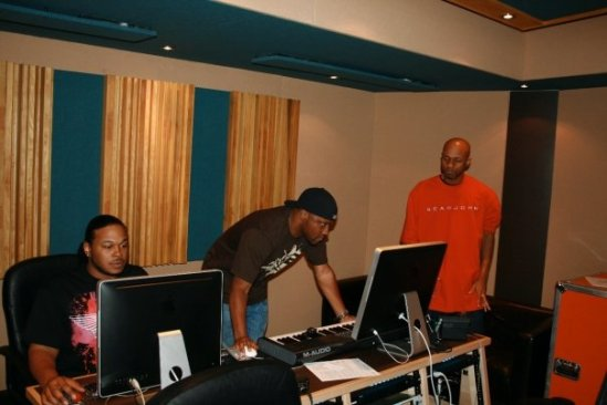 TB and UR working beat CJ session