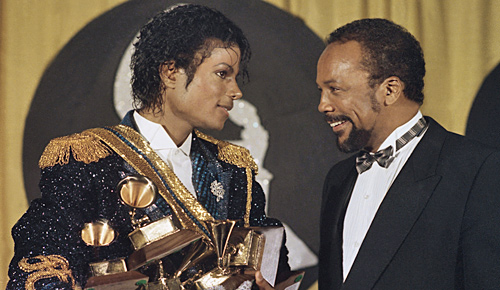 QUINCY JONES AND MICHAEL JACKSON